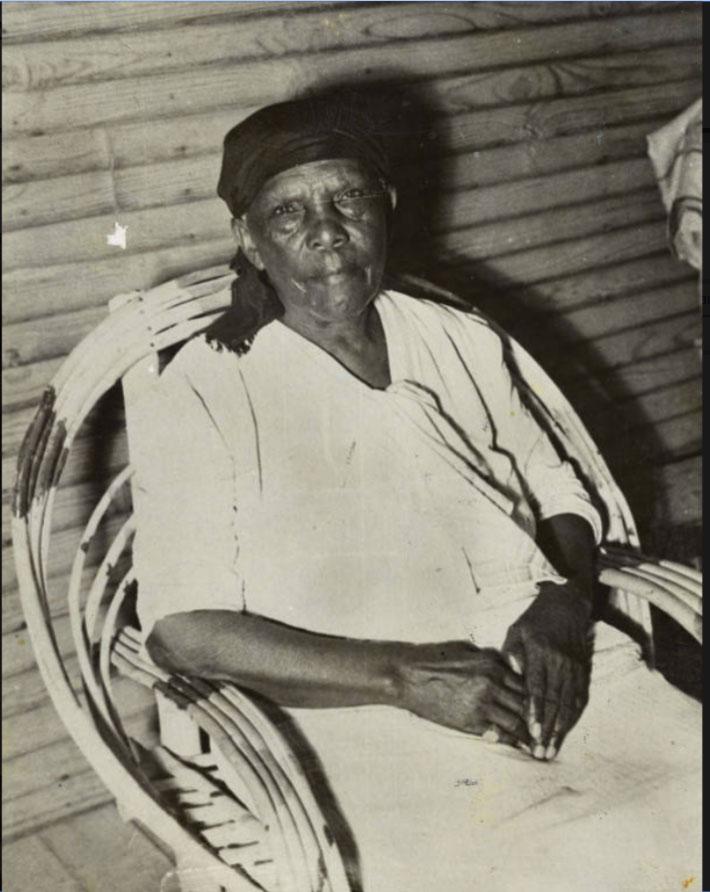 African-American pioneer Amanda Davis