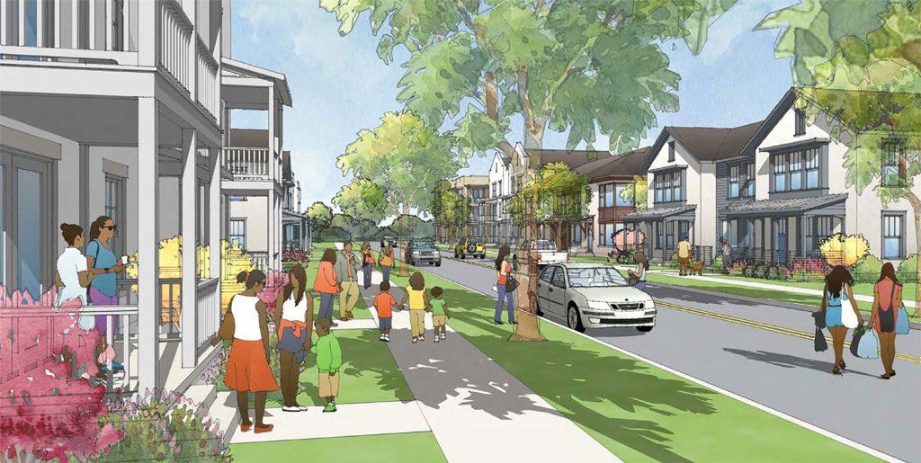Stop Six Choice Neighborhood Project